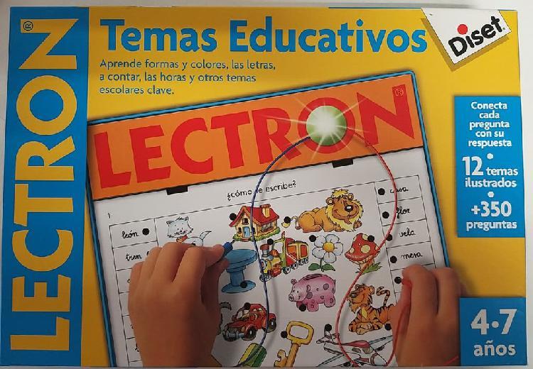 Juguete educativo lectron