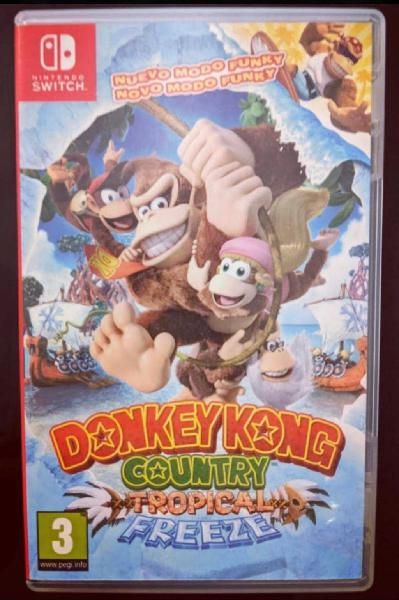 Nintendo switch donkey kong tropical freezer