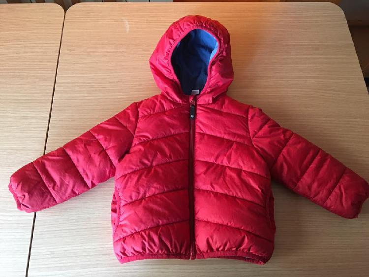 Niños y bebes abrigo con forro polar por dentro