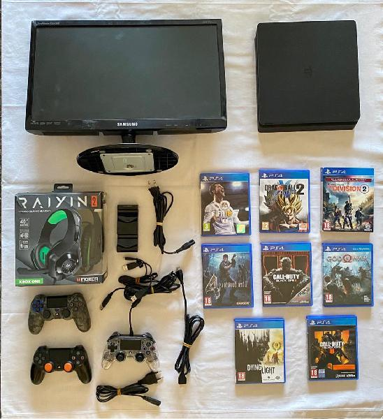 Pack ps4 + monitor
