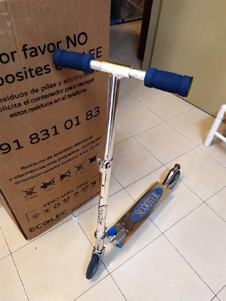 Patinete infantil scooter
