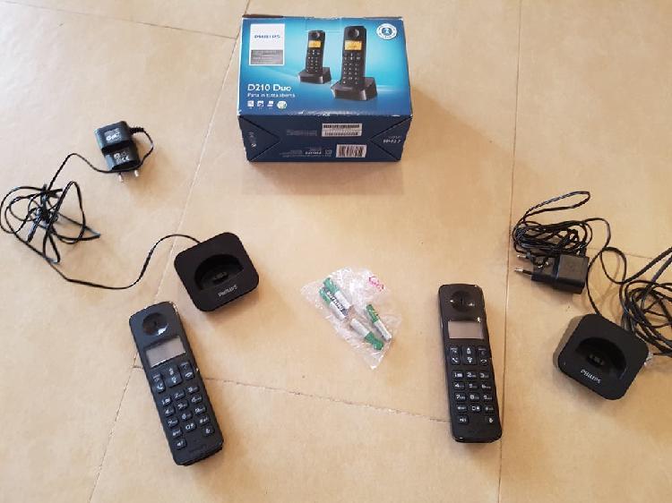 Teléfonos duo inalámbricos
