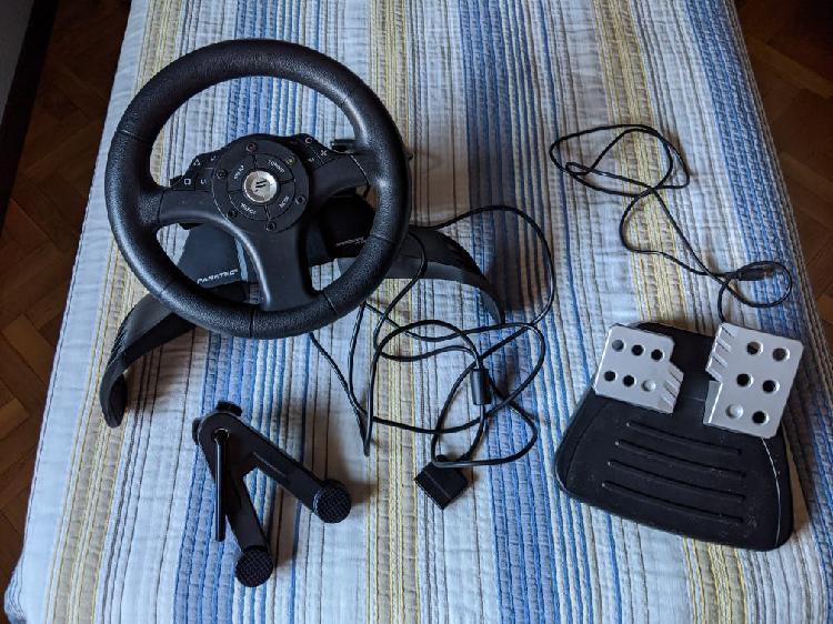 Volante y pedales playstation