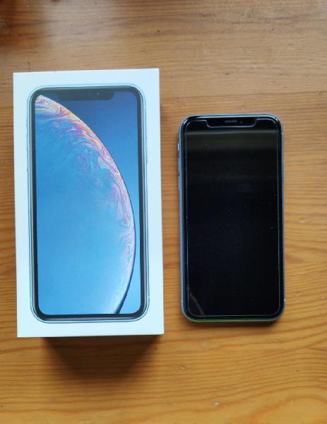 Iphone xr azul 64gb