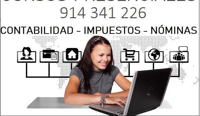 Curso contabilidad en madrid. inicio 11 enero 2021
