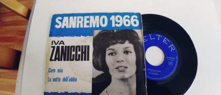 Iva zanicchi-single caro mio
