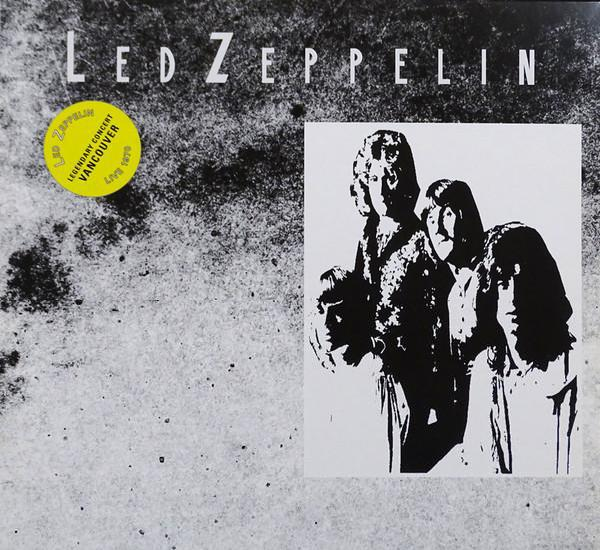Lp led zeppelin – vancouver, legendary concert, live 1970