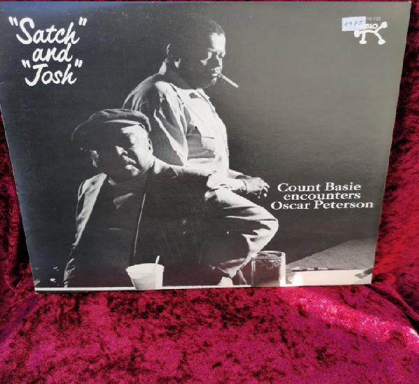 Lp vinilo blues, count basie, oscar peterson 'satch and