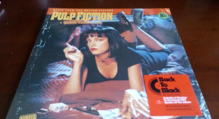 Pulp fiction - lp - nuevo - bso - envio gratis a partir de