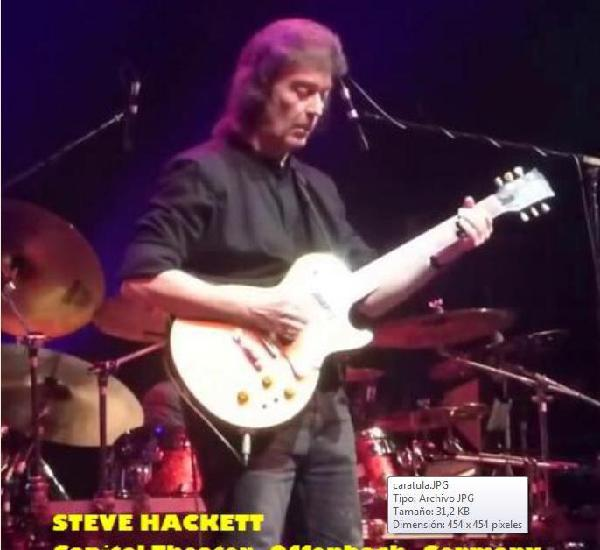 Steve hackett - capitol theater, offenbach, germany - 4
