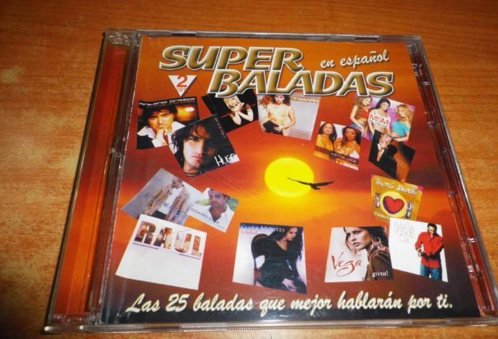 Super baladas en español doble cd 2004 vega antonio orozco