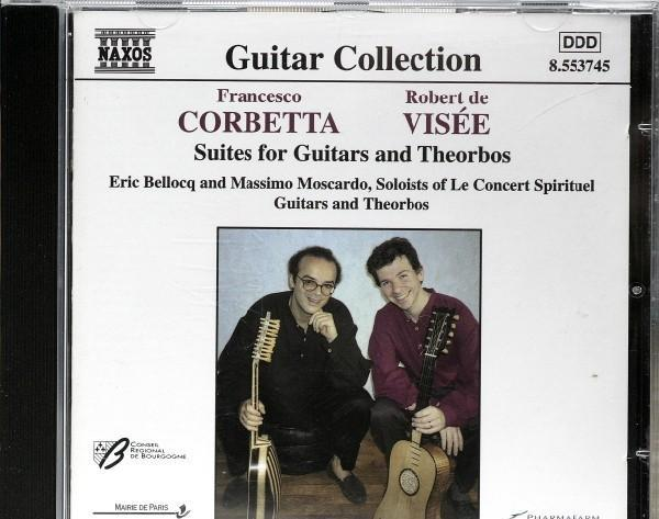 Suites for guitars and theorbos - francesco corbetta /