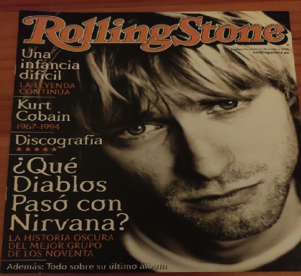Suplemento especial noviembre 2002 rolling stone. kurt