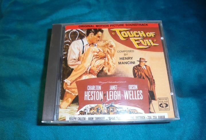 Touch of evil. henry mancini. bso. cd. impecable (#)