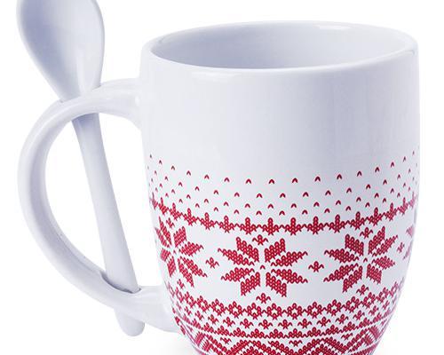Taza promocional de navidad sorbux