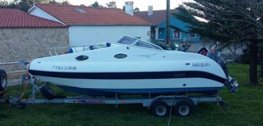 Barco 6 metros aquamar bahia blanca