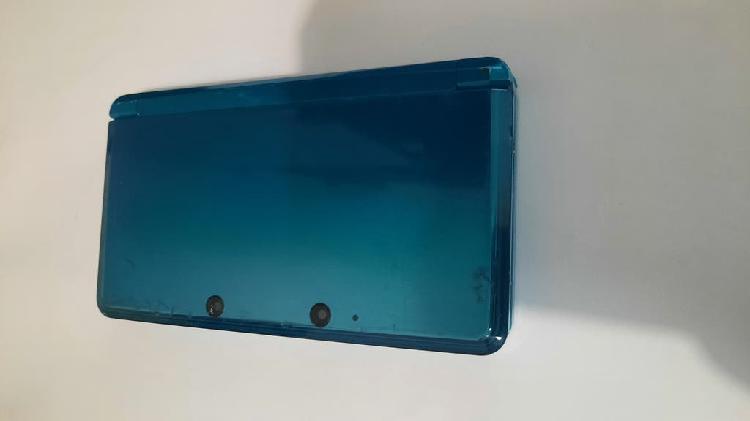 3ds aqua blue averiada