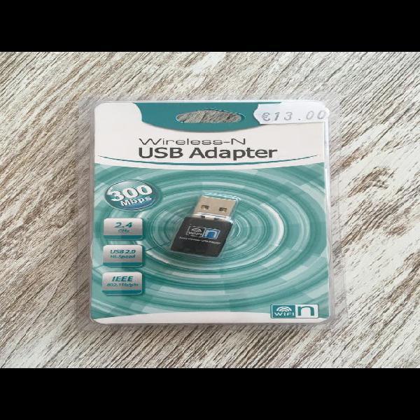 Adaptador wifi usb nuevo