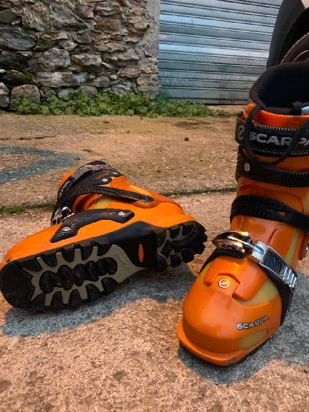 Botas esquí de travesía scarpa