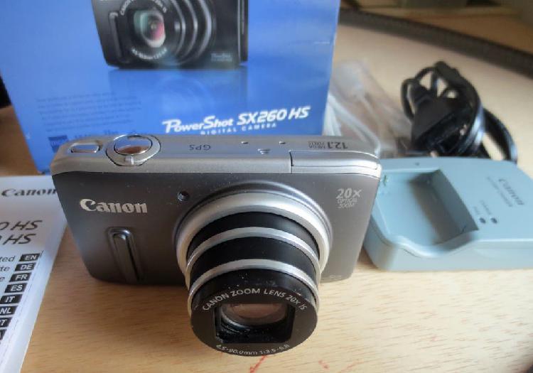 Camara digital canon powershot sx260 hs