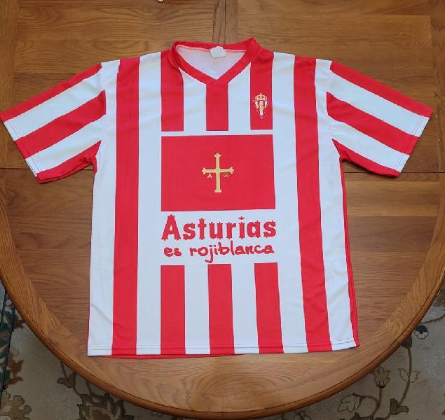 Camiseta sporting ascenso 2008
