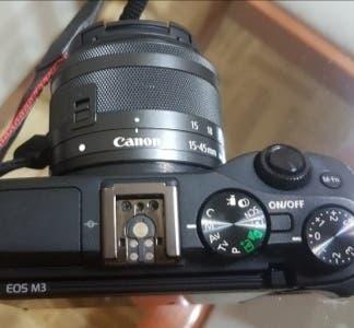 Canon m3 con objetivo