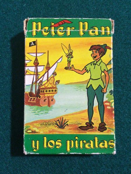 Juego cartas peter pan 1962