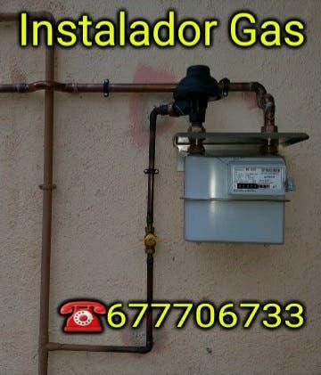 Lampista instalador autorizado gas natural,butano
