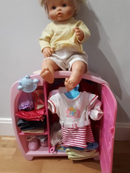 Nenuco, armario nenuco, ropa y complementos