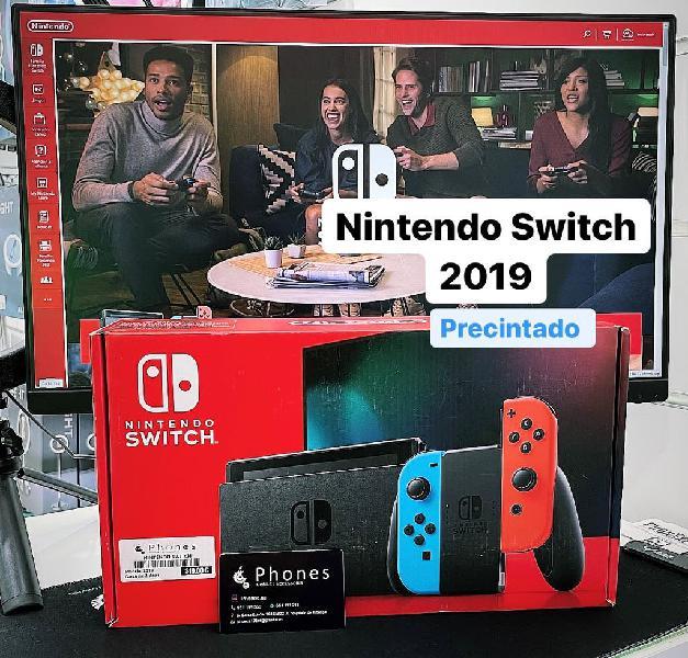 Nintendo switch 2019 precintado (tienda)