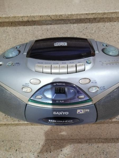 Ràdio cd cassetteplayer
