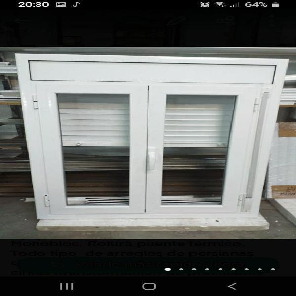 Se fabrican y reparan ventanas de aluminio