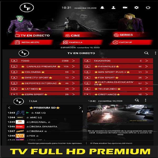 Tv full premium súper oferta tv full hd premium