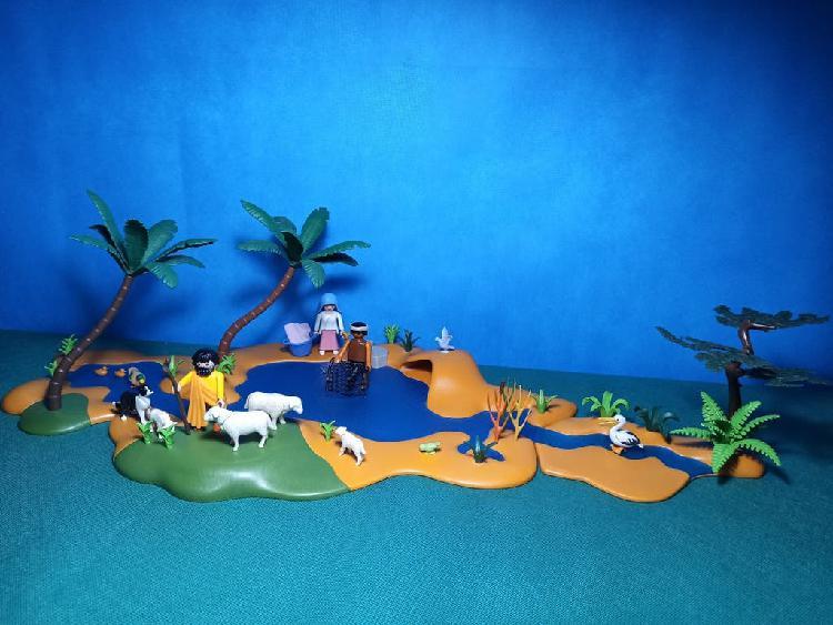Río ideal para belén playmobil
