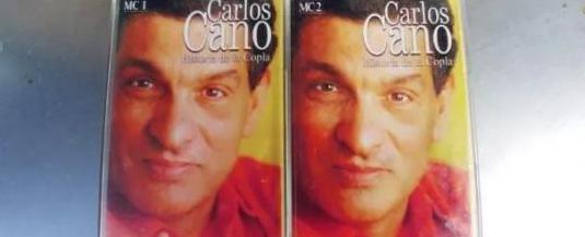 Carlos cano-cassette doble historia de la copla