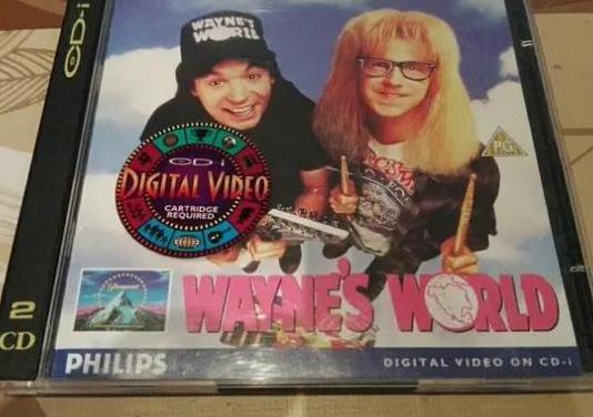 Cd-i vcd. wayne's world (1992)