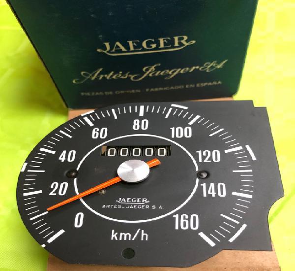 Cuenta kilómetros jaeger 2057 (simca 1200 especial serie 4