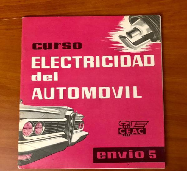 Curso electricidad del automovil, envio 5, (ceac)