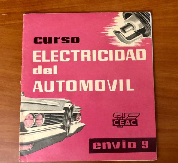 Curso electricidad del automovil, envio 9, (ceac)