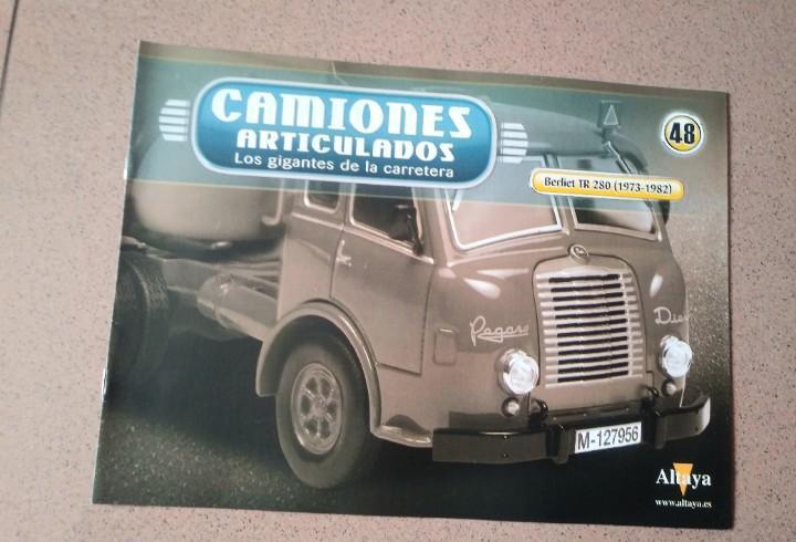 Fascículo 48 camiones articulados berliet tr 280
