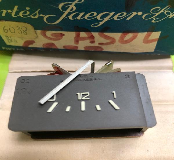 Indicador de combustible jaeger 6038 (renault 6 mod, 1970/73