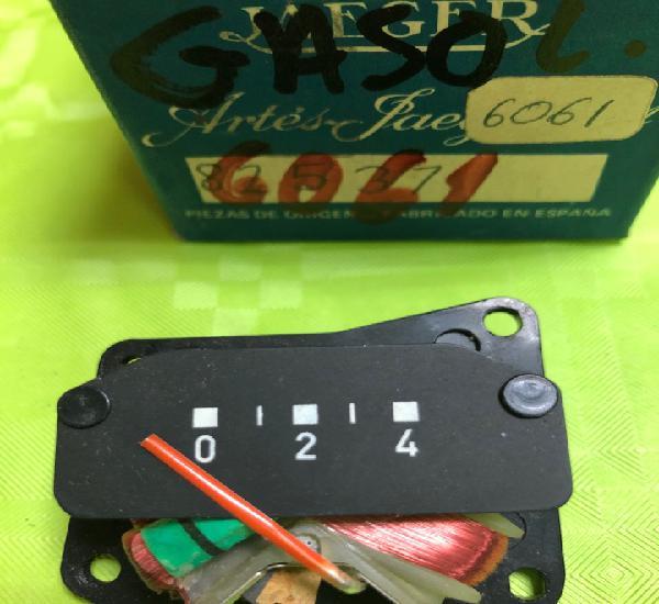 Indicador de combustible jaeger 6061 (renault 8 y renault 10