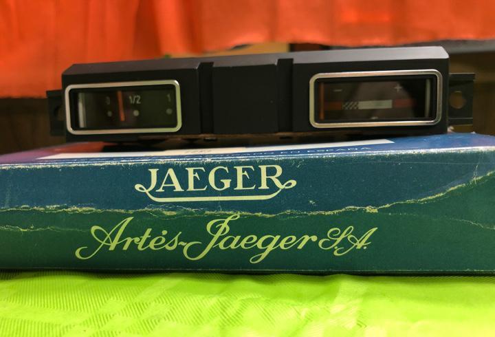 Indicador de combustible y voltímetro jaeger 4062 (dyane-