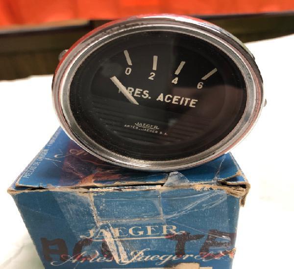 Indicador presión de aceite -jaeger 9541