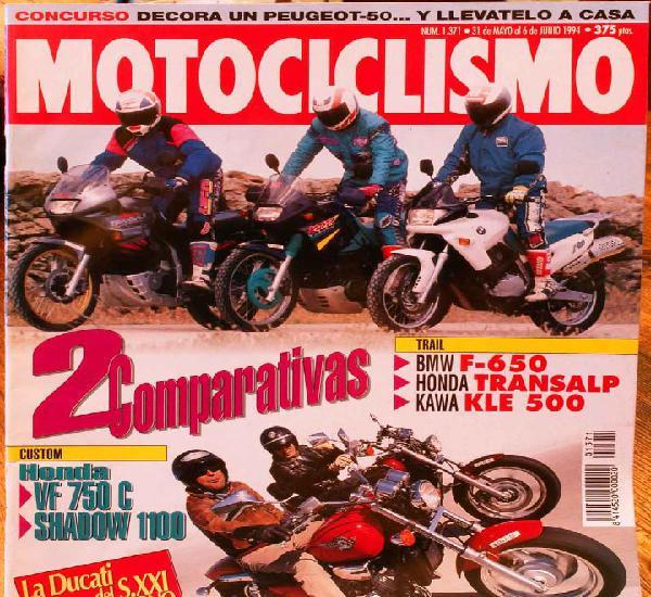 Motociclismo #1371 31/5/94. buen estado