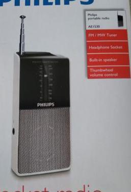 Radio philips portátil nuevo