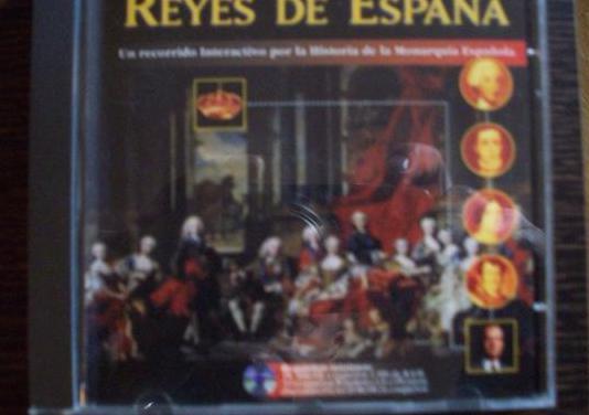 Reyes de españa (cd-rom)
