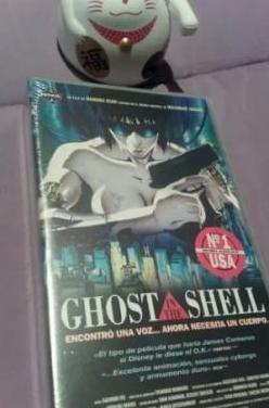 Pelicula ghost in the shell - video