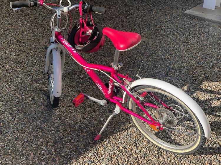 B'twin bicicleta de niñas polivalente original