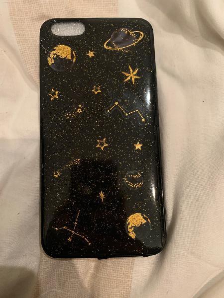 Funda iphone 6s plus planetas y estrellas